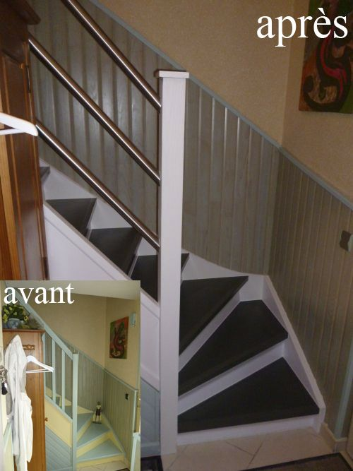 Renovation escalier bois fabulous rnovation escalier for Renovation escalier bois interieur