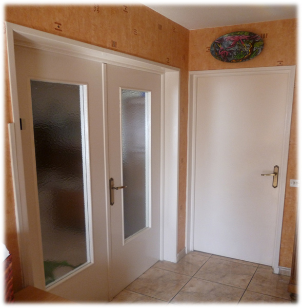 Poser une porte interieure en renovation photos de - Renovation de porte interieure ...
